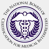 certified medical interpreters