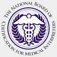 certified medical interpreters